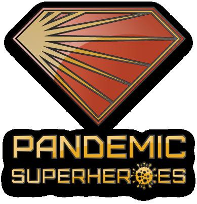 Pandemic Superheroes Crest Graphic